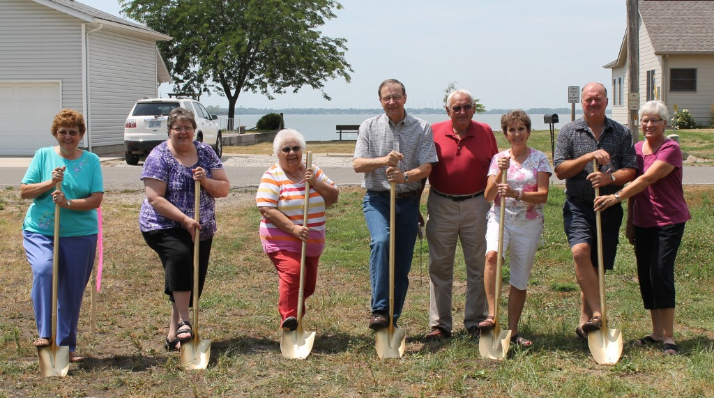 Lakeside Iowa Groundbreaking Ceremony